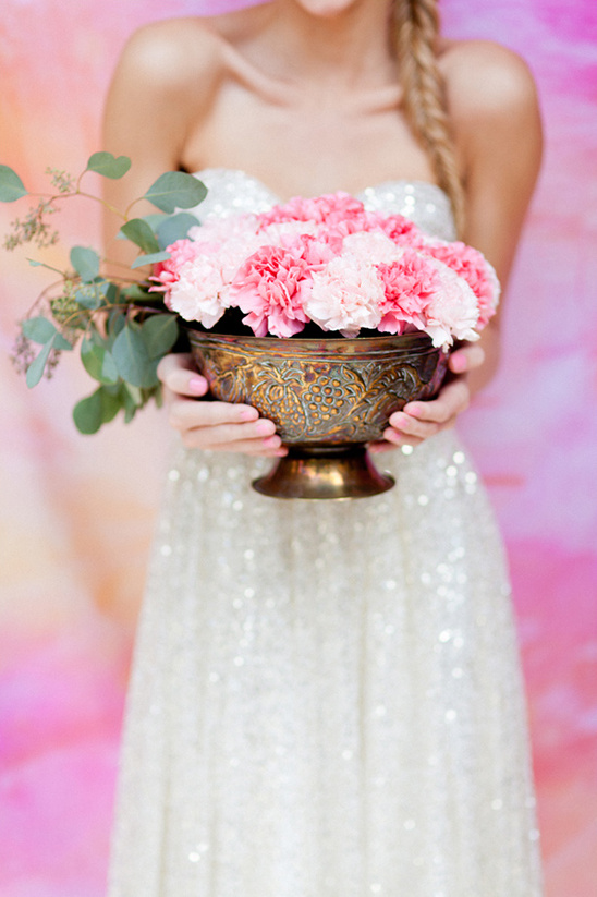sparkling colorful wedding ideas