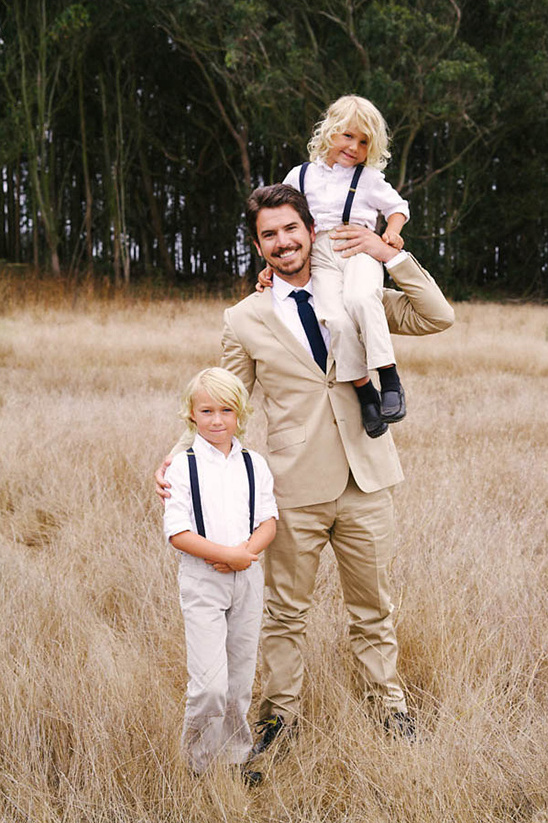 cutest suspender ring bearer looks