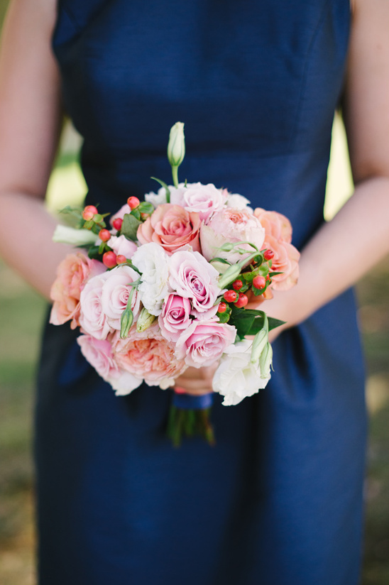 rose and hypericum berry bouquet