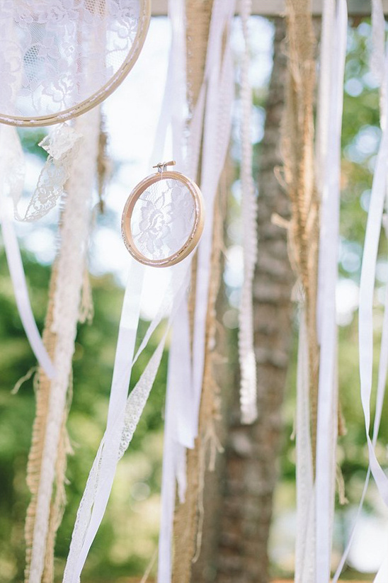 lace hanging looms