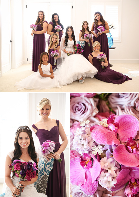 purple bridesmaid ideas