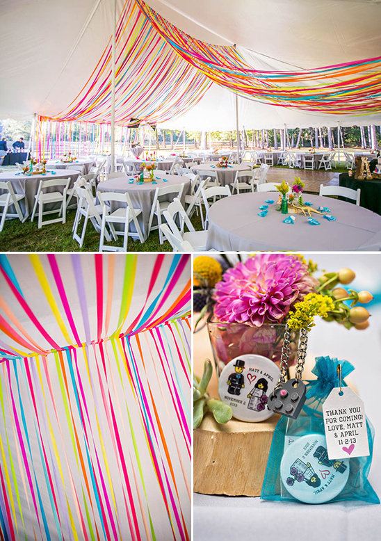 Blog Outdoor Wedding With Bright Color Palette