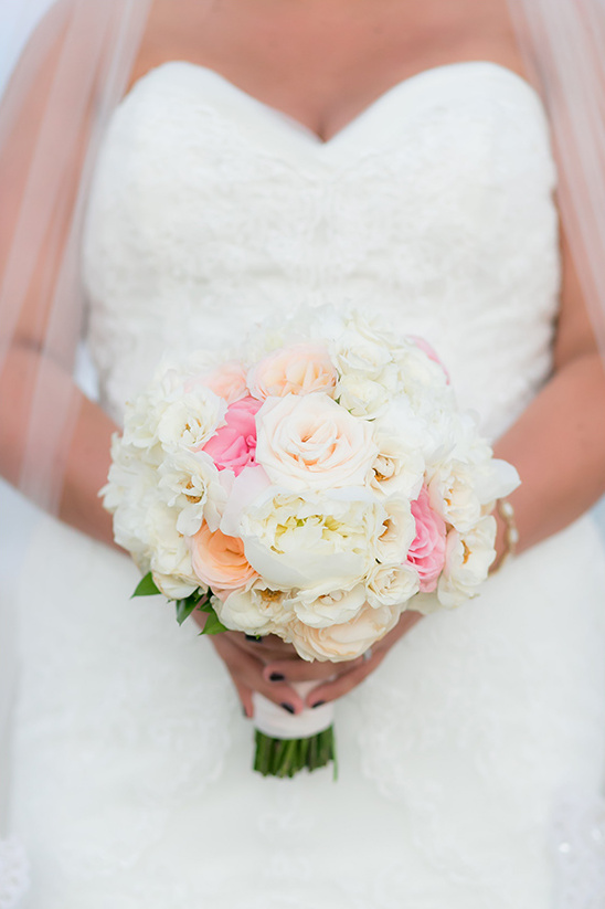 soft hues beach bouquet