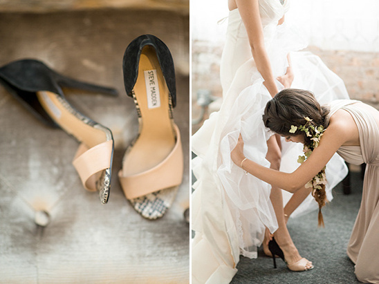 wedding shoes by Steve Madden