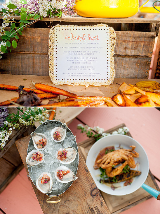 organic wedding menu ideas