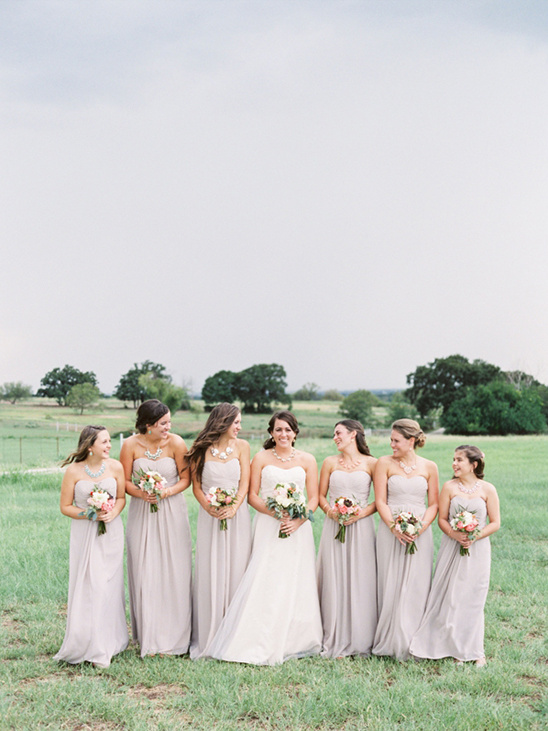 rose colored bridesmaid dresses