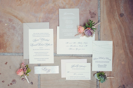 classic calligraphy stationery