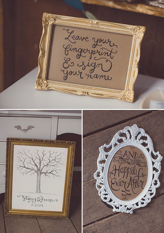 finger print guestbook