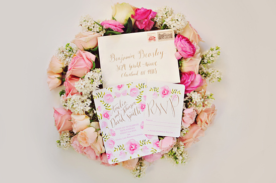 floral stationary by Four Things Paper