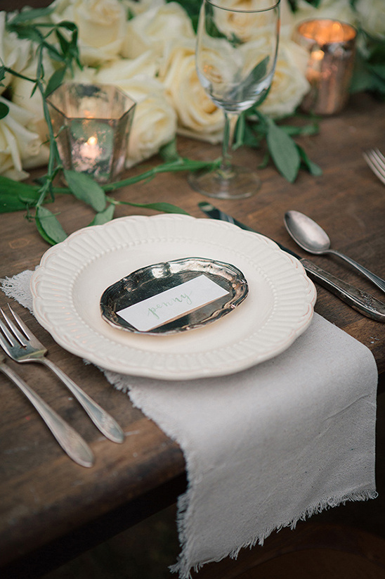 elegant organic table setting