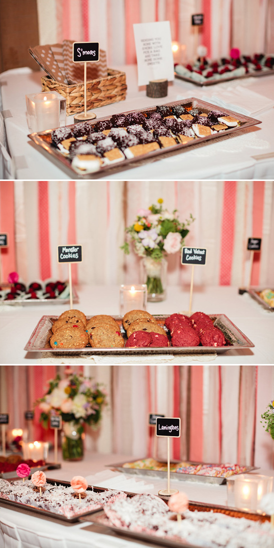 mouth watering dessert bar