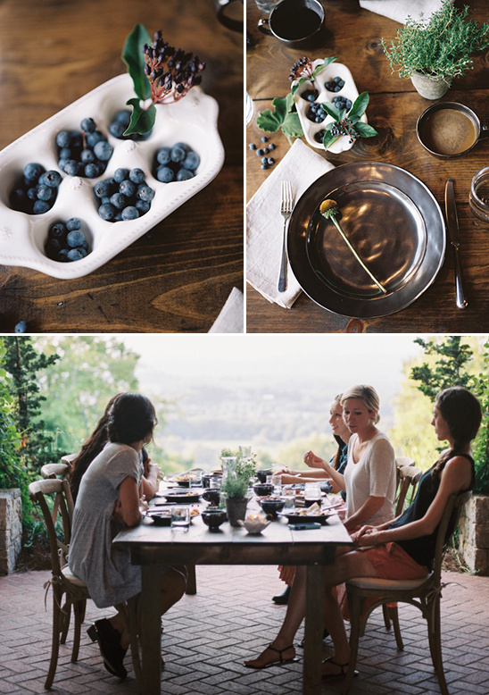 simple and sweet table decor