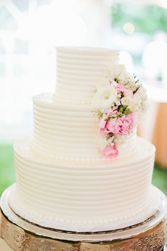 classic white wedding cake from Bettersweet Bakery