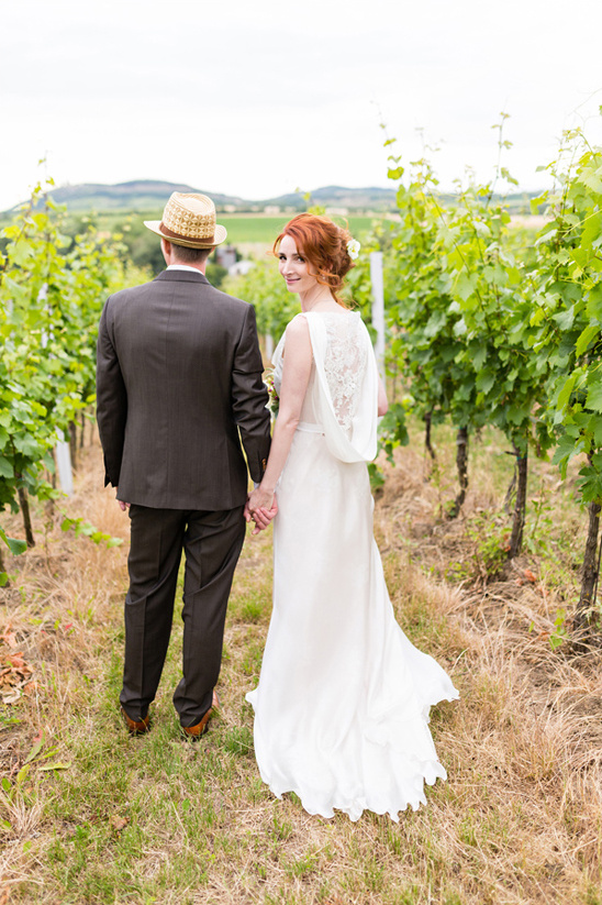 beautiful vineyard wedding in the Czech Republic