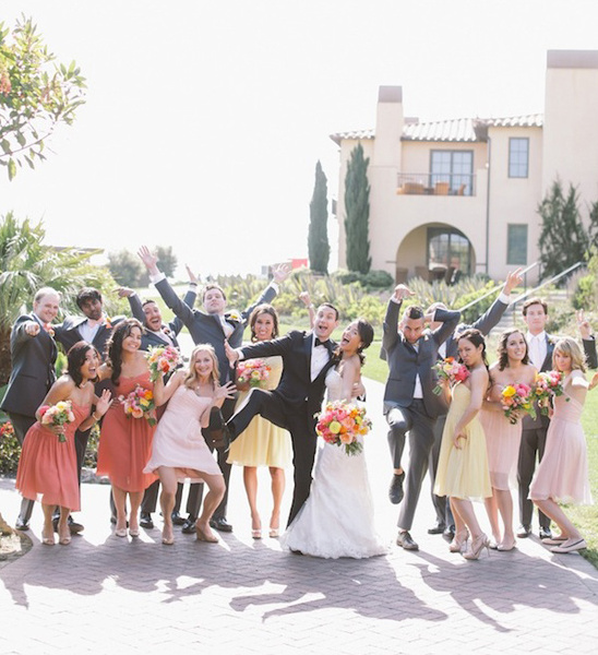 goofy wedding party