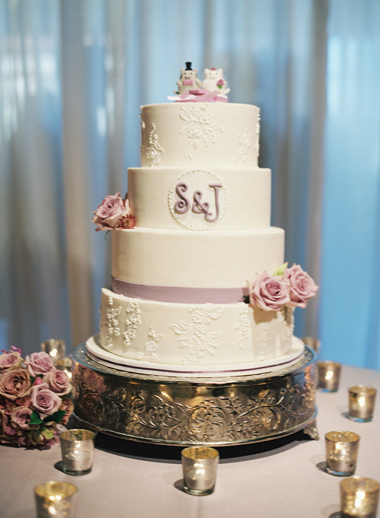 wedding cake by Just The Frosting