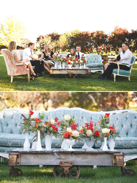 cocktail hour seating inspiration