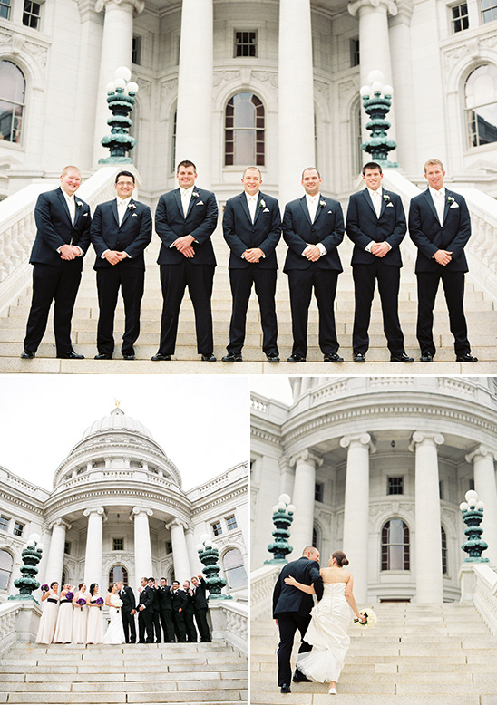 black and white groomsmen