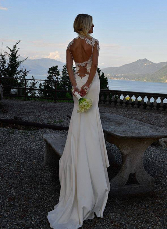 Galia Lahav wedding gown