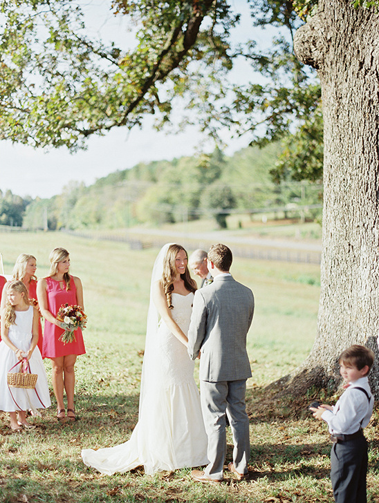 married under a tree