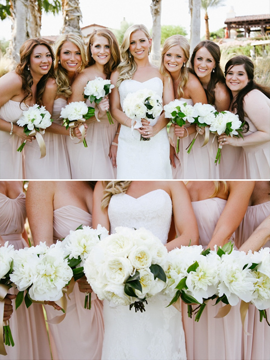 Classic White And Ivory Wedding