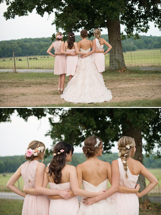 pink bridesmaid ideas