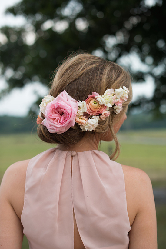 Artisitry In Bloom floral crown