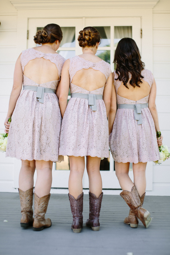 cute pastel purple bridesmaid dresses