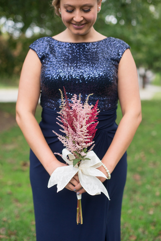astilbe bridesamaid bouquet