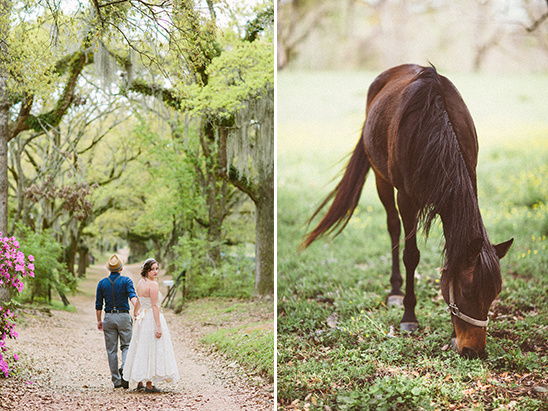 quaint vintage wedding in the country