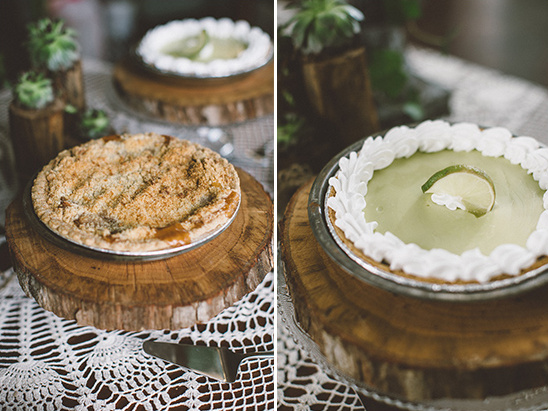 wedding pies