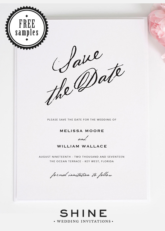 Chic And Elegant Wedding Invitations