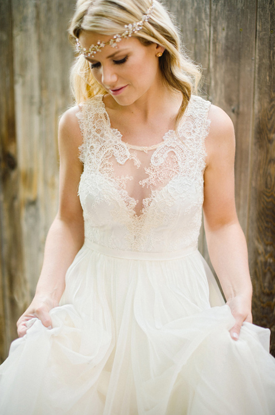 Danielle wedding gown from Leanne Marshall