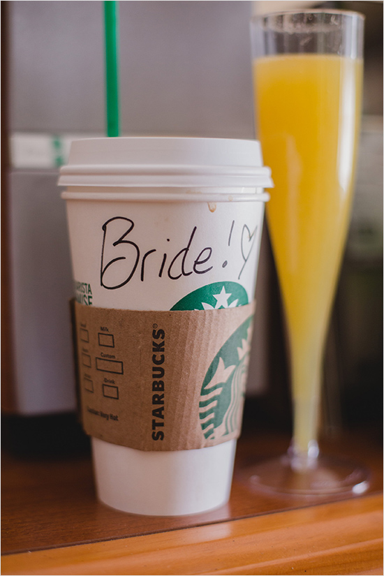 bride starbucks cup