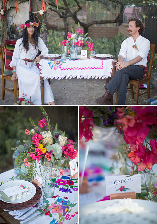 Southwest inspired tucson wedding