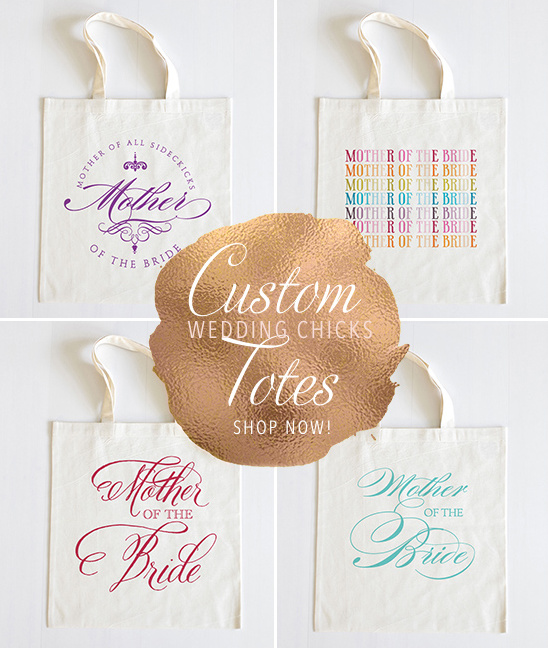 Customize your own Wedding Chicks Tote