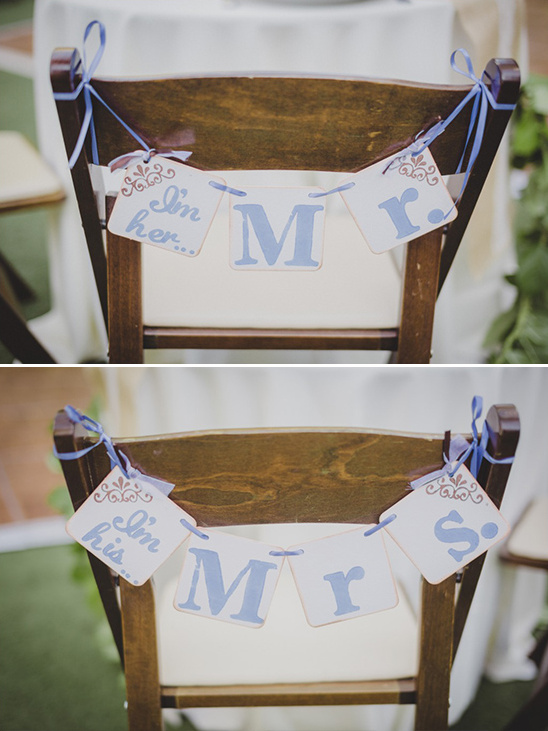 mr and mrs seat signs