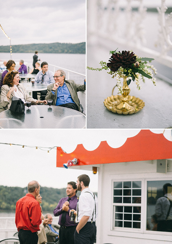 paddle boat reception