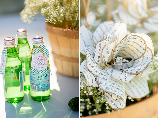sparkling water favors