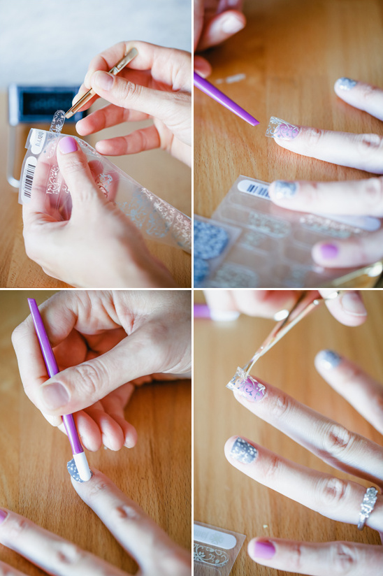 continue with the rest of your nails