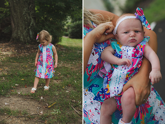 Lilly Pulitzer flower girl dresses