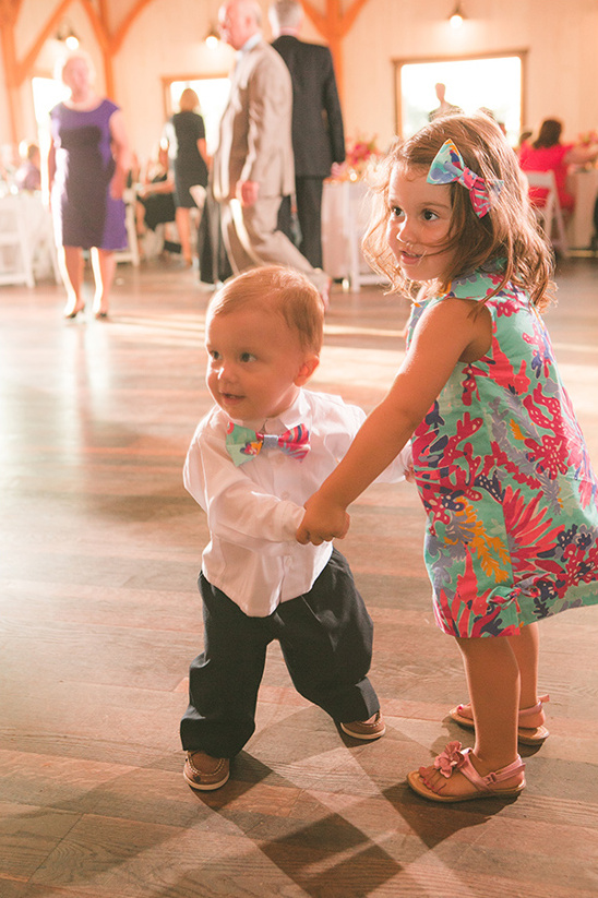 kid friendly wedding