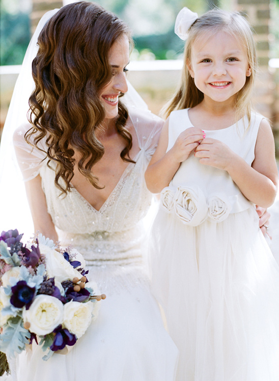 sweetest little flower girl