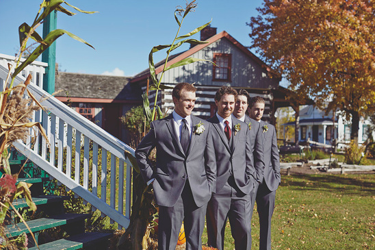 formal fall groomsmen