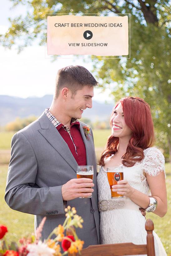 craft beer wedding dieas