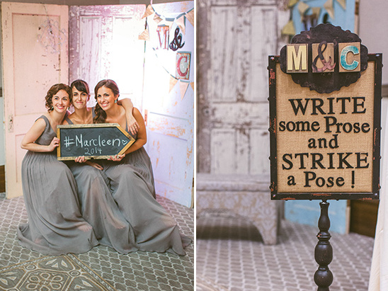 upcycled door backdrop