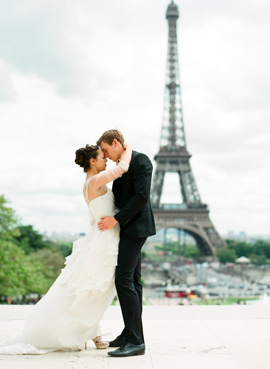 just the two of us wedding in paris