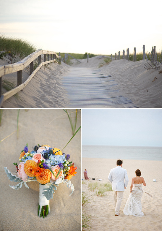 beach front wedding