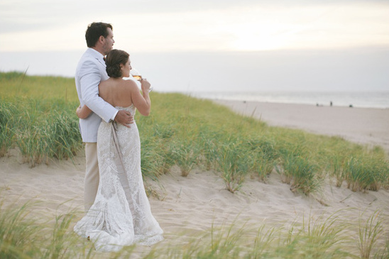 romantic beachside wedding