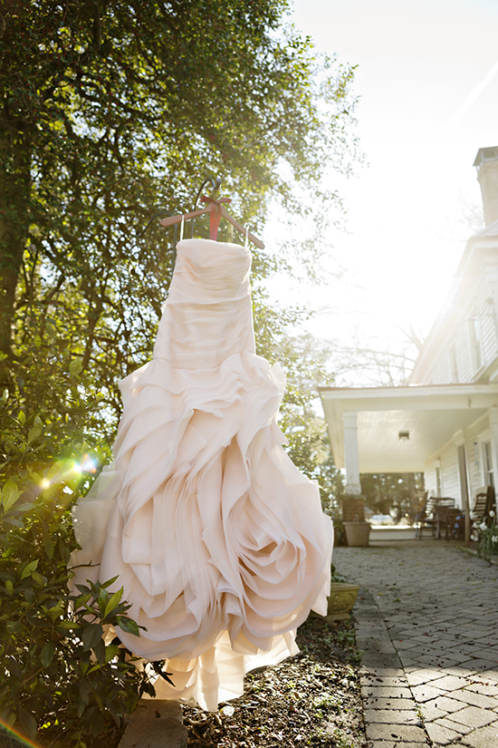 pink Vera Wang Dress